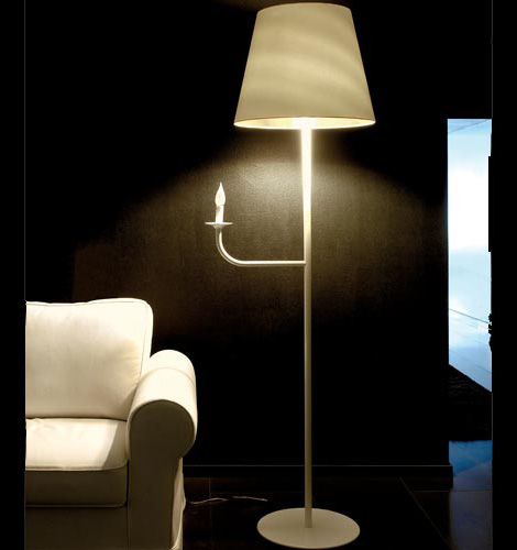 ylighting silhoutte floor lamp Modern Designer Lighting by Contardi