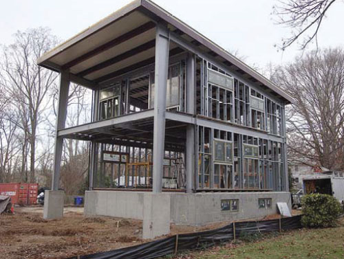 1 EcoSteel EcoSteel Builds an Honest Steel Home