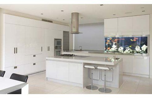 Love My Home: Modern Kitchen Splashback - Parapan Splashback