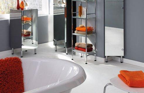 Modular Units Midnight Grey Gloss - Utopia Bathroom Furniture Group
