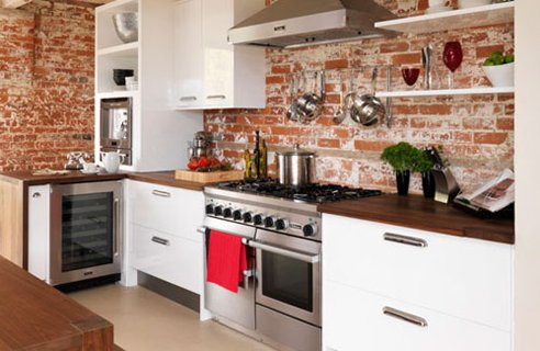 Brick Kitchen Design