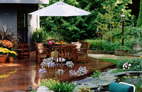18 garden timber decking Garden Design Ideas Large space to fill?