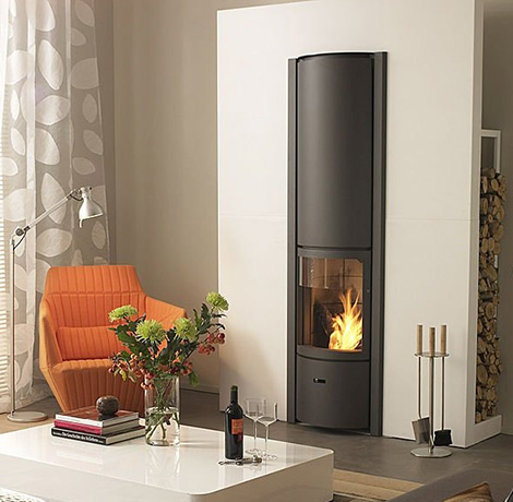 Wood Burning Stoves and Fireplaces - Log Cabin Connection | Log
