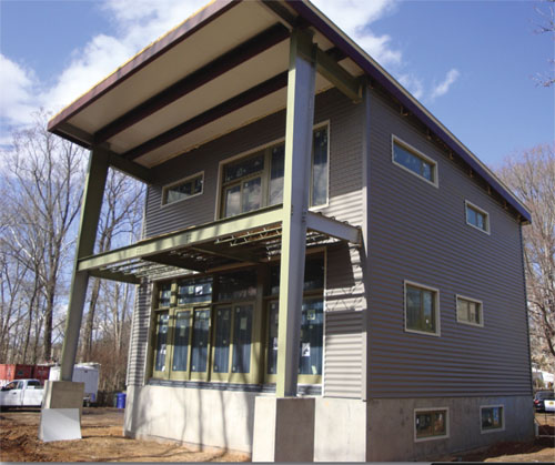 4 EcoSteel EcoSteel Builds an Honest Steel Home