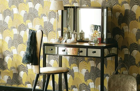 wallpaper designs for bedrooms. 5 Harlequin Design Ideas For