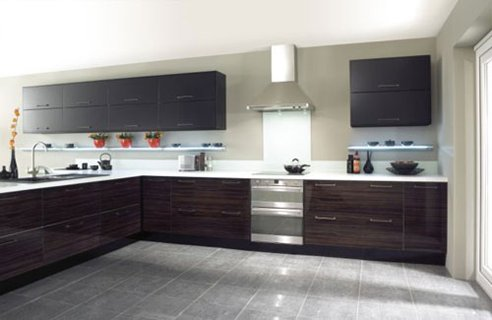 Dark wood is generally very expensive so why not go for a for Kitchen ideas homebase