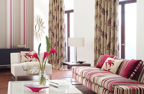 Living Room Ideas Design on Harlequin Living Room Design Colourful Design Ideas For Living Room