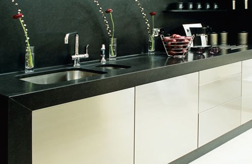 1 Stone Age Kitchen1 Contemporary White & Cream Kitchen Design Ideas
