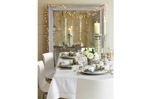 1 TWC Dining Table Christmas Table Decors
