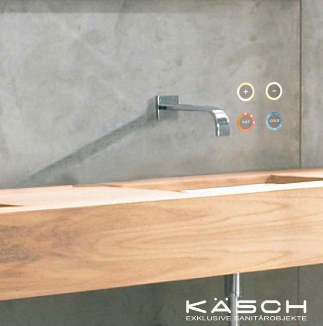 ultra modern bathroom with glass blocks shower cabin