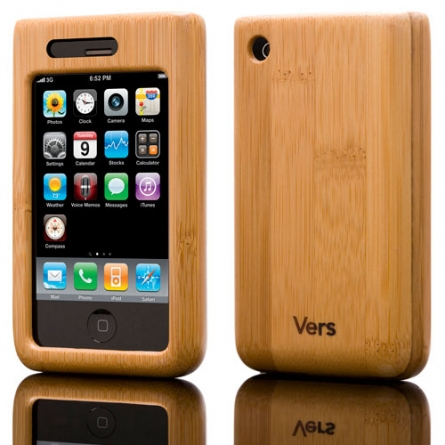 Gift idea: Wood Shellcase for iPhone/3G/3GS by Vers