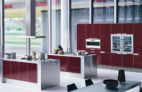 1 poggenpohl segmento Colourful Kitchen Design Ideas