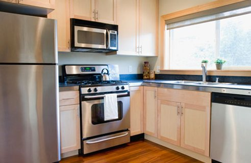 Narrow Kitchen Units
