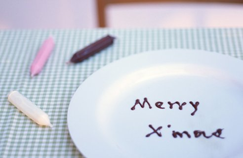 11 plate decoration Christmas Table Decors