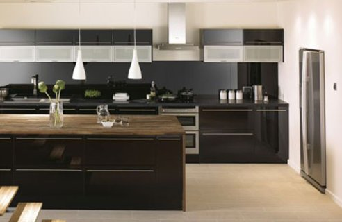 Kitchen on Black Kitchen Design Ideas   Home Interior Design  Kitchen