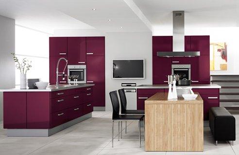 Contemporary Kitchen Design on Contemporary Colourful Kitchen Design Ideas   Home Interior Design
