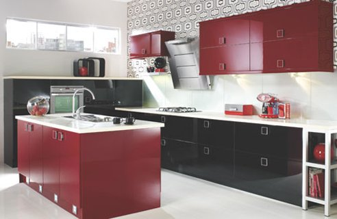Repainting formica kitchen cabinets - Finishing: Anodizing