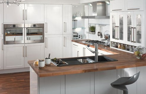 Kitchen Cabinet Decorating Ideas on Double Ovens At Chest Height  We Love    Em  Practical  Look Good  And