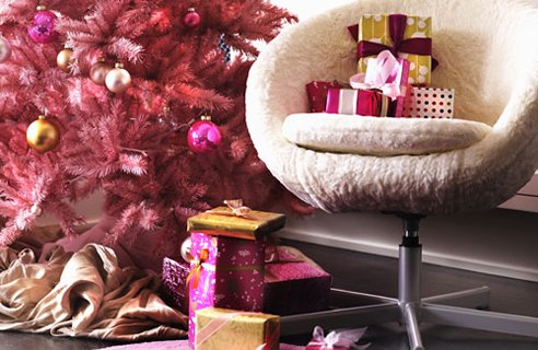 8 Pink Tree Christmas Tree Decorating Ideas