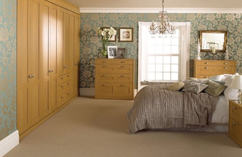 1 Sharps Sonata Oak Country Style Bedrooms