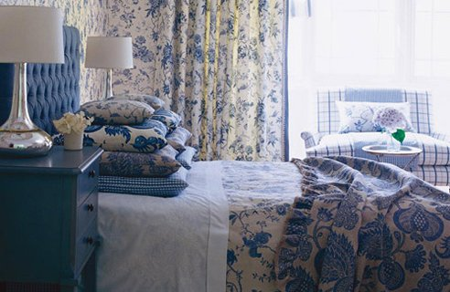 2 Sanderson Pemberley Country Style Bedrooms
