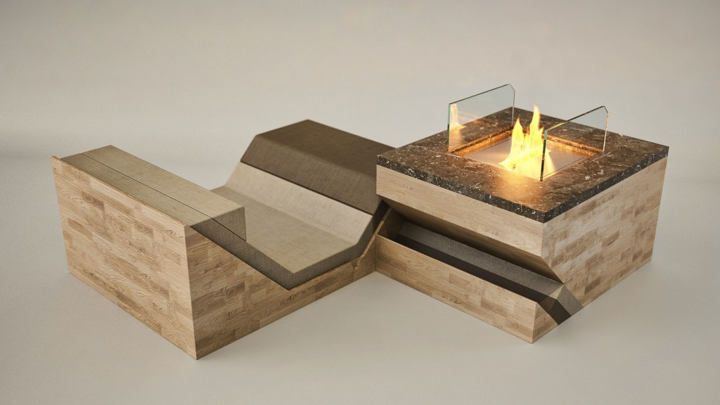 1 hillside fireplace by flying cavalries 1024x576 HILLSIDE Fireplace by Flying Cavalries