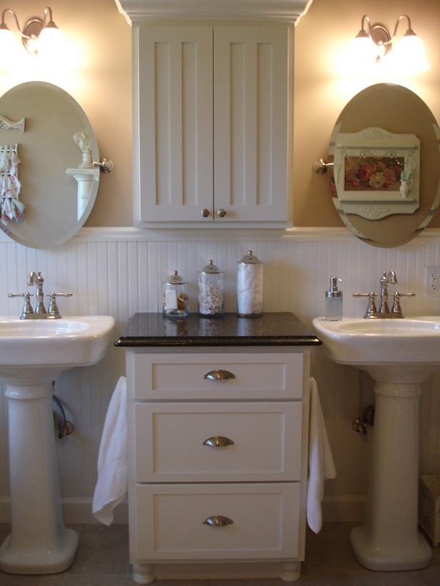 Unique Bathroom Pedestal Sinks Ideas Outstanding Bathroom With Pedestal Sink Storage 616 X 821 133 KB