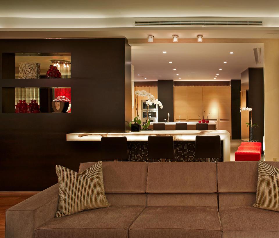 Apartment design in manhattan by pepe calderin home interior design
