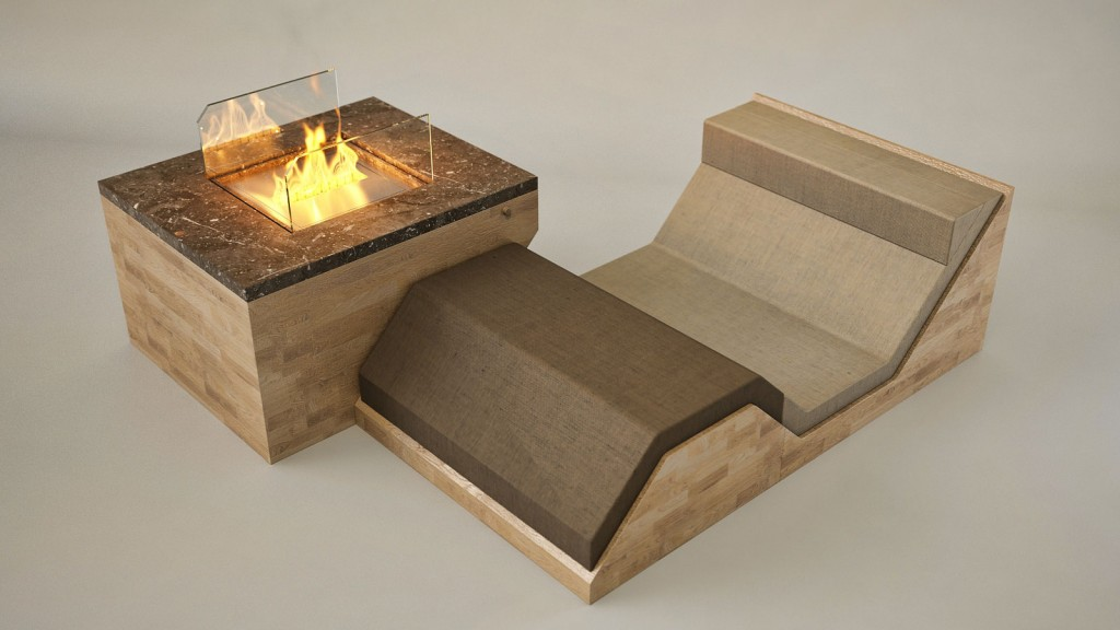 2 hillside fireplace by flying cavalries 1024x576 HILLSIDE Fireplace by Flying Cavalries