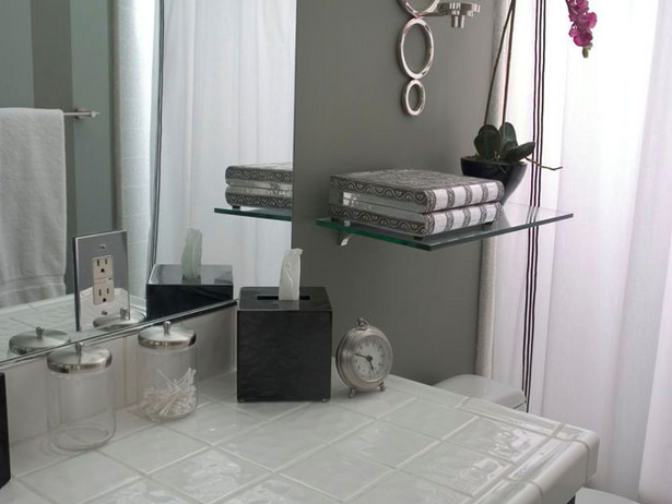 Small Bathroom Shelving Idea