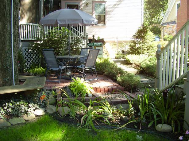 Home And Garden Ideas Patios : Water gardens shady design ideas patios decks