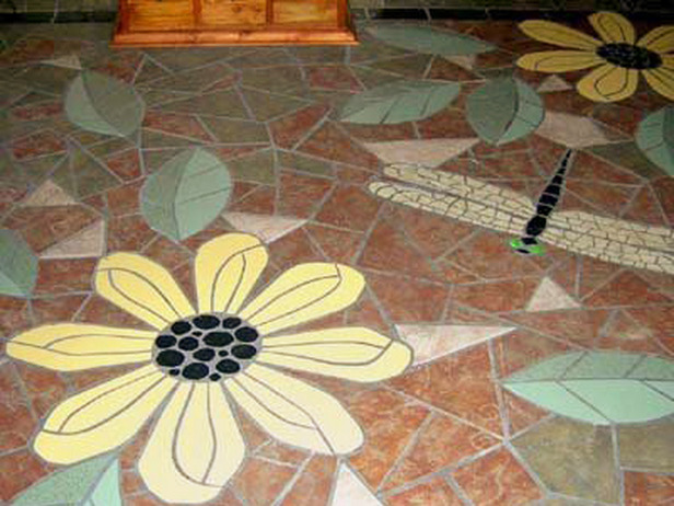 Unique Flooring Ideas Pictures To
