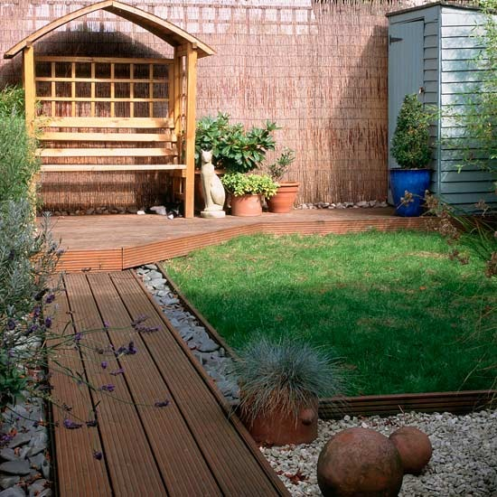 Backyard garden ideas for kids photograph room ideas s for Small garden design ideas decking