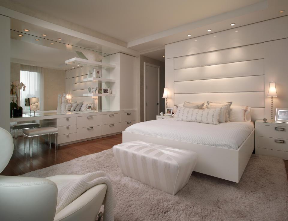 Стильные спальни фото
