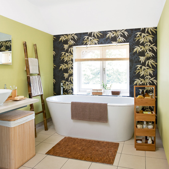Bath Wallpaper Ideas: Bathroom Wallpaper Ideas