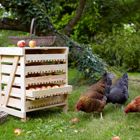 1-garden-storage-ideas-apple-rack | Home Interior Design, Kitchen ...