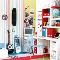 Modern children's bedrooms - design ideas