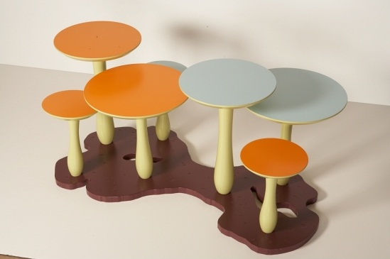 1 thomas wold mushroom coffee table for kids1 Thomas Wold Mushroom Coffee Table for Kids
