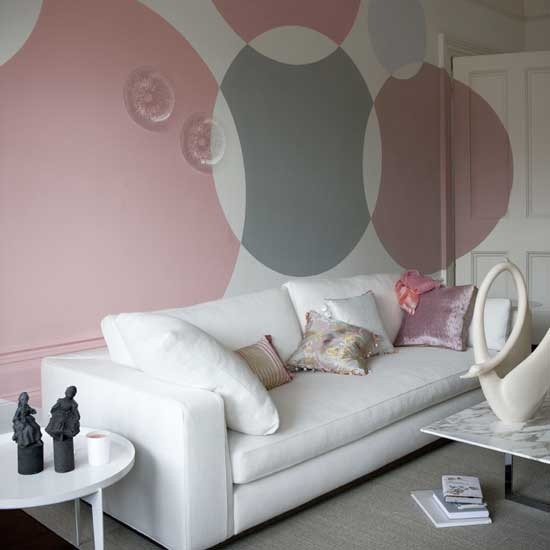 How to paint circles on walls