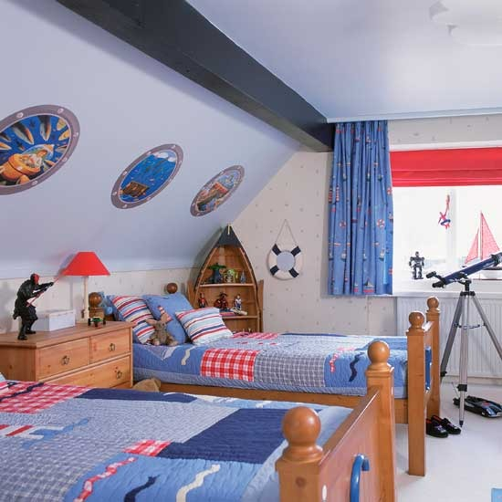 3-boys-bedroom-ideas-Nautical-boat | Home Interior Design, Kitchen ...