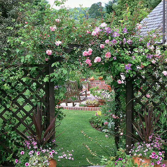 English country garden decorating photograph country style for Country garden designs landscaping