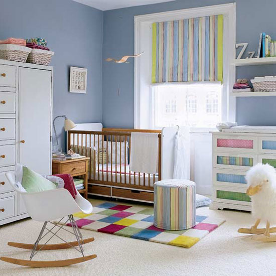 3 nursery decorating ideas for childrens room colourful accents Nursery decorating ideas for Childrens Room
