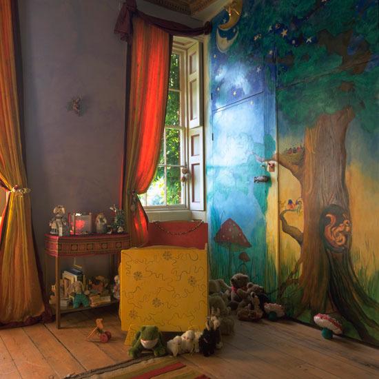 3 wonderful colourful childrens room Fairytale Wonderful colourful Childrens room