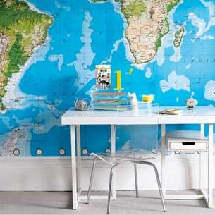 4-best-10-boys-bedroom-ideas-map | Home Interior Design, Kitchen ...