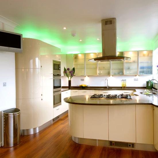 Modern Kitchen Lighting Ideas 550 x 550