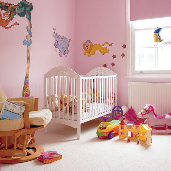 4 nursery decorating ideas for childrens room wall stickers Nursery decorating ideas for Childrens Room