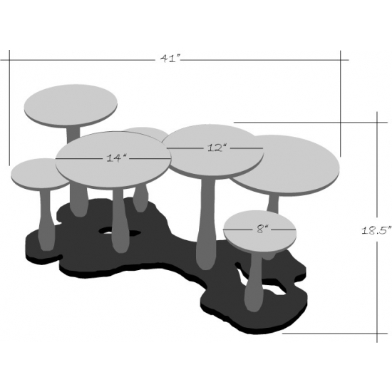 4 thomas wold mushroom coffee table for kids Thomas Wold Mushroom Coffee Table for Kids