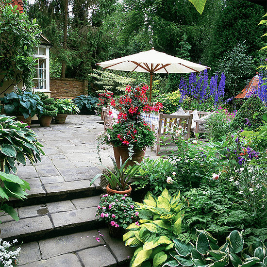 Small Patio Gardens