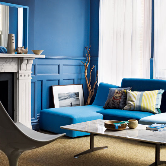 5 modern living rooms ideas blue Modern living rooms ideas