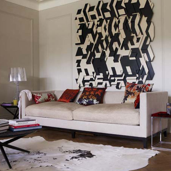 5 strange and wonderful living rooms strange wall Strange and wonderful living rooms